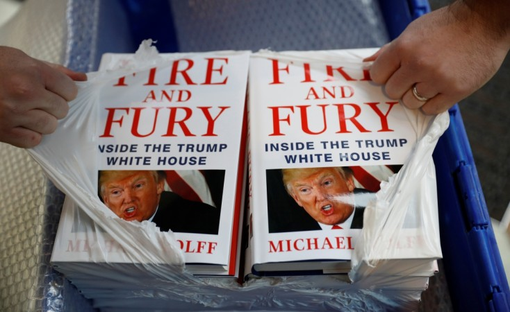 Fire and Fury book by Michael Wolff
