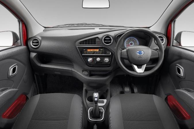 Datsun redi-Go AMT interior
