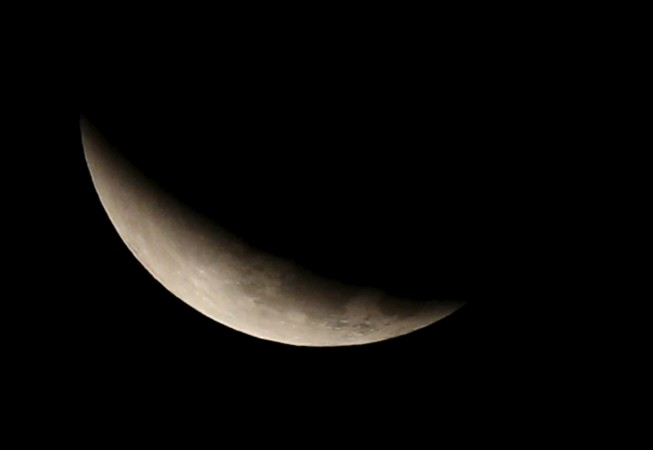 time of moon eclipse today in india