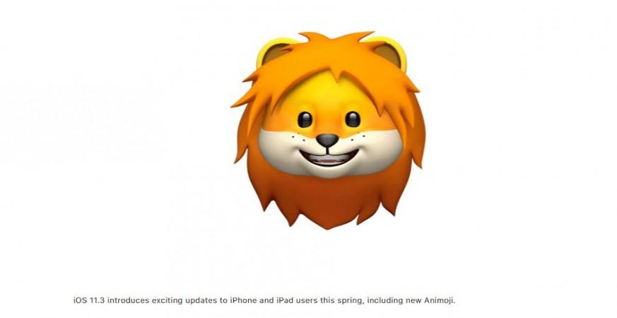 Apple iOS 11.3, Animojis for iPhone X, Lion, Bear, Dragon, Skull, Apple iMessage