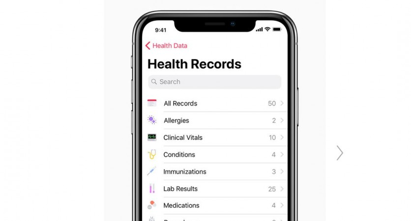 Apple iOS 11.3, Health Records, iOS update,