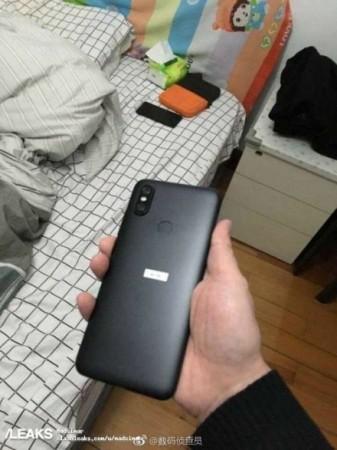 Xiaomi Mi 6X Leak Image
