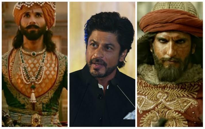 Shahid Kapoor, Shah Rukh Khan and Ranveer Singh