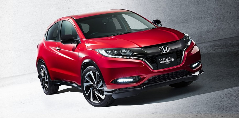India-bound 2018 Honda HR-V facelift revealed: Crossover SUV to take on Jeep Compass - IBTimes India