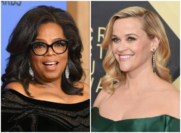 Oprah Winfrey and Reese Witherspoon