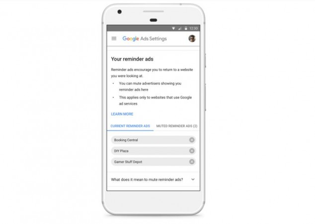 Google Ad Settings