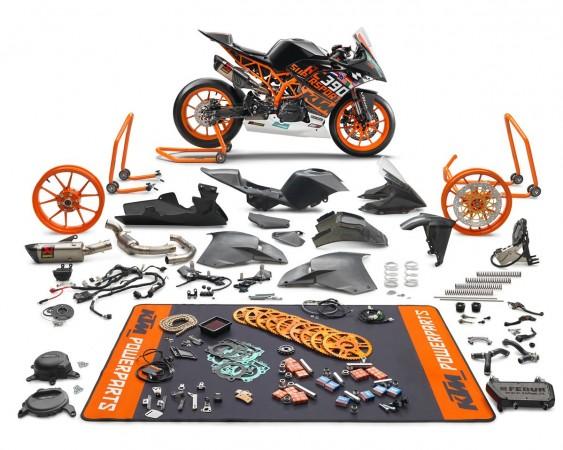 KTM RC 390 R- SSP300 Race Kit