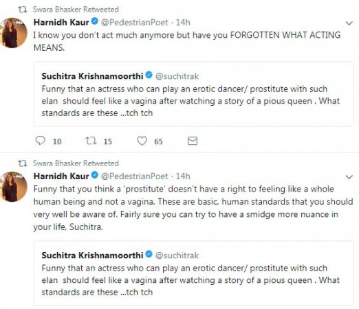 Swara Bhasker tweet