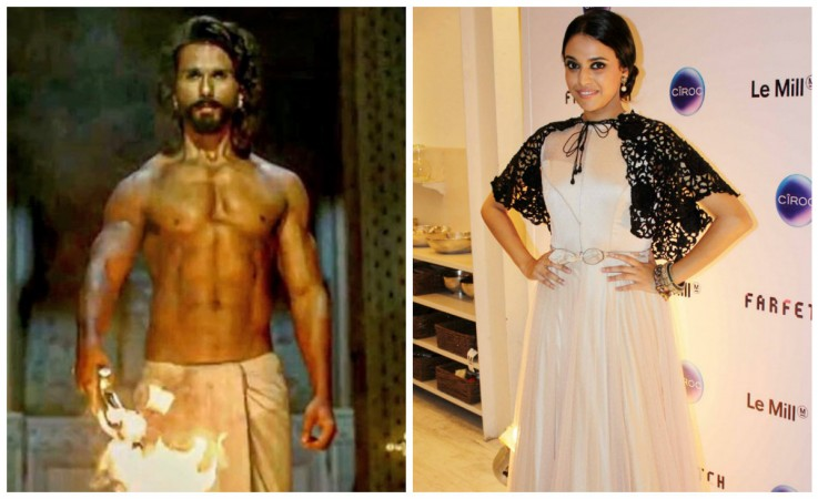 Shahid Kapoor in Padmaavat, Swara Bhaskar at an event