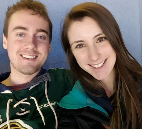 Katie Stephens and Eddie Zytner.