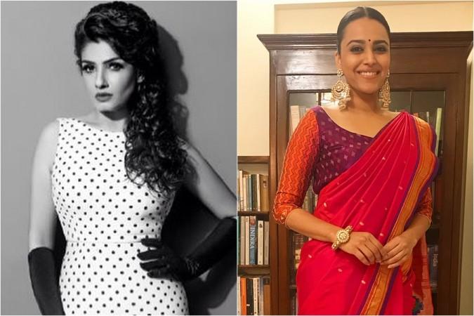 Raveena Tandon, Swara Bhaskar