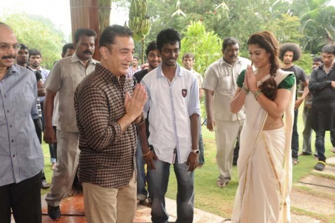 Kamal Haasan with Nayanthara