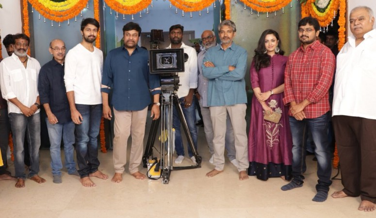 SS Rajamouli launches Megastar Chiranjeevi's son-in-law Kalyaan Dhev's debut film