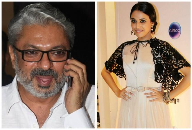 Sanjay Leela Bhansali and Swara Bhaskar