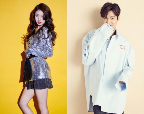 Suzy Bae and Lee Min Ho