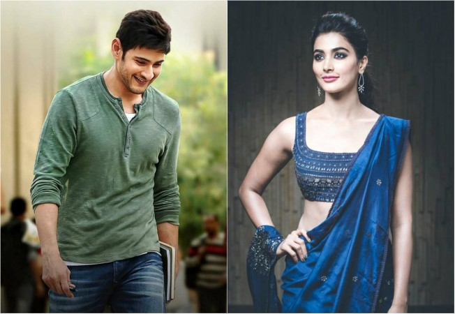 Pooja Hegde and Mahesh Babu