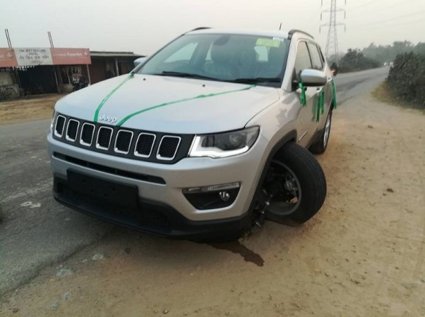 Jeep Compass front wheel comes off
