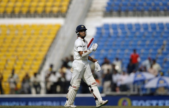Sourav Ganguly final Test duck