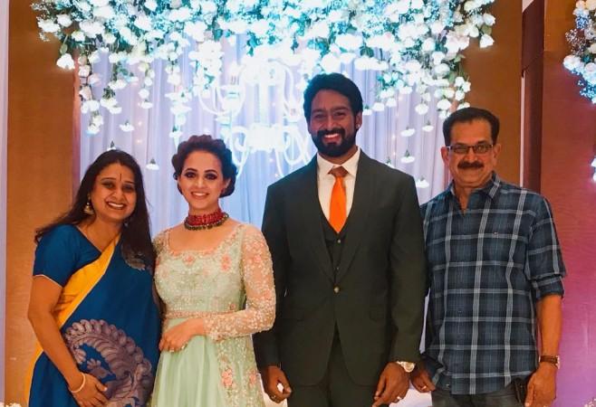 Actress Bhavana's Bengaluru Wedding Reception