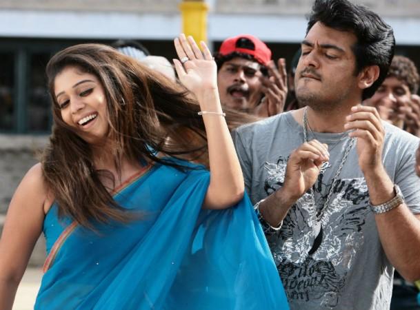 Nayanthara with Ajith