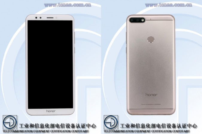 Honor 7C TENAA