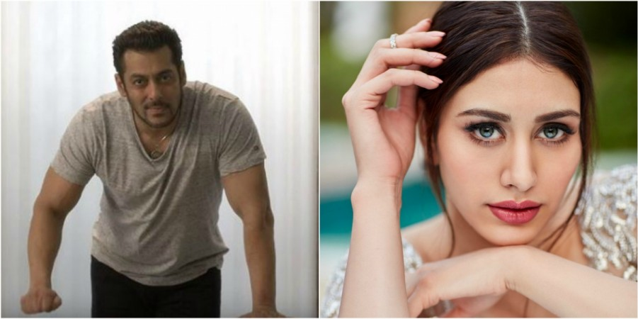 Salman Khan introduces Loveratri heroine, Warina Hussain