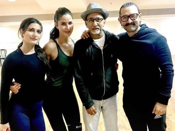 Katrina Kaif, Fatima Sana Shaikh, Aamir Khan