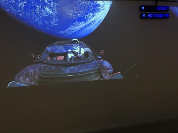 Mannequin Falcon Heavy