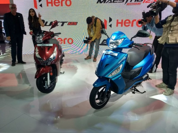 Hero 125ccs scooters