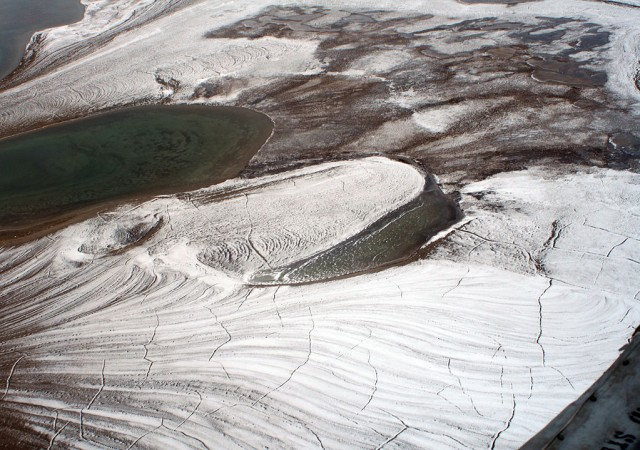 mercury trapped inside Arctic permafrost
