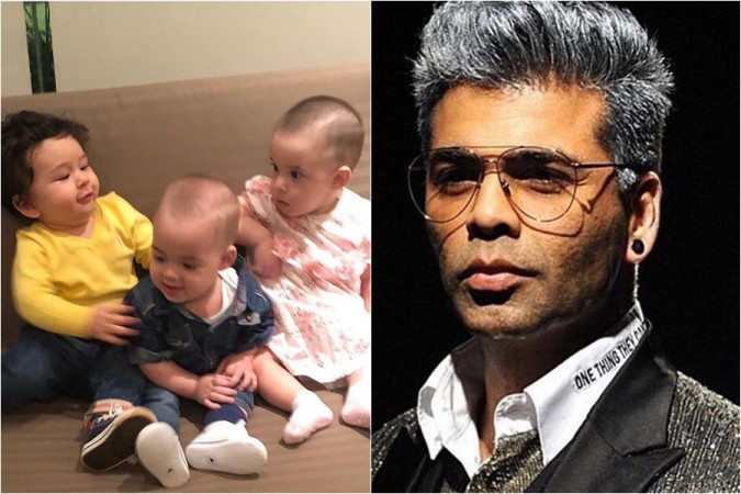 Karan JOhar, Yash and Roohi