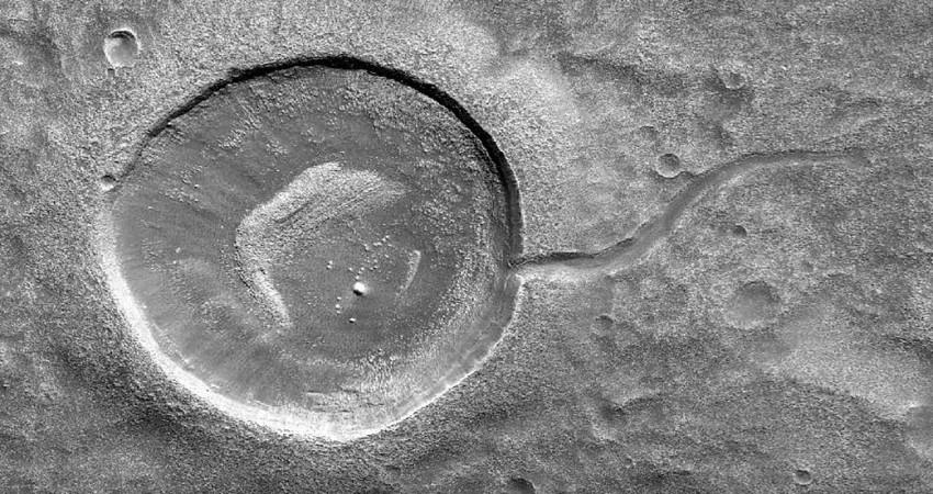 nasa, crater,