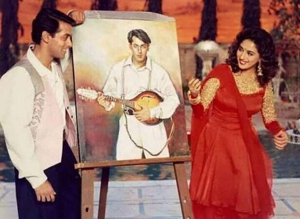 Salman Khan, Madhuri Dixit