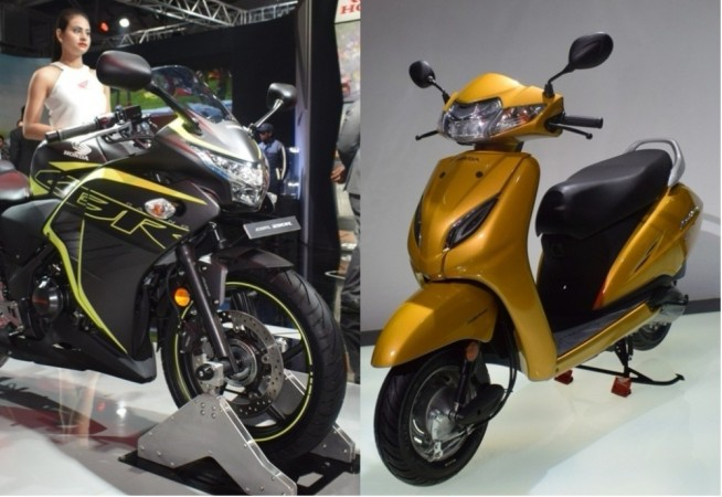 Honda CBR 250R and Activa 5G