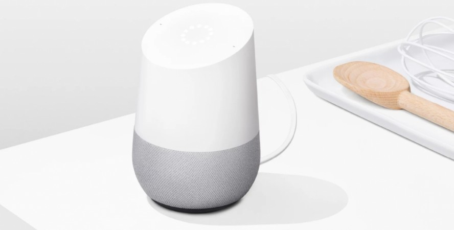 Google Home as seen on its official website