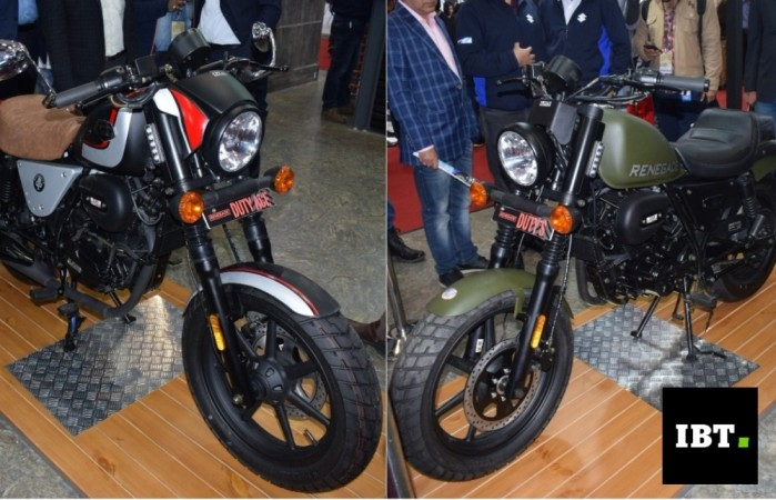 Twins Auto Sales >> Auto Expo 2018: UM Renegade Duty S, Duty Ace launched at Rs 1.10 lakh - IBTimes India