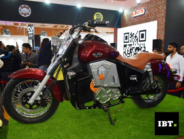 Um Renegade Thor World S 1st Geared Electric Cruiser Bike Launched At Auto Expo 2018 Ibtimes