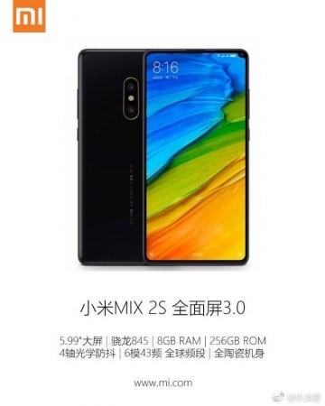 Xiaomi Mi Mix 2 leaked promo image