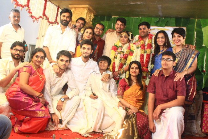 YG Mahendra's son wedding and reception