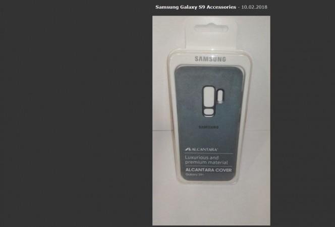 Samsung, Galaxy S9 , cover case, single camera