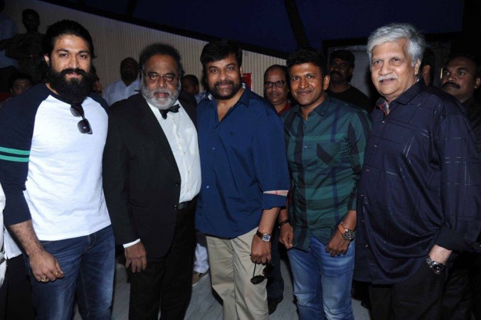 Yash, Ambareesh, Chiranjeevi and Puneeth Rajkumar