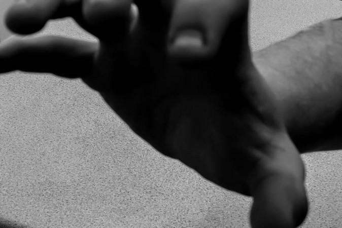 grope black and white