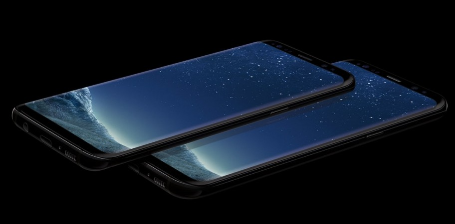 Samsung Galaxy S8  as seen on its official website