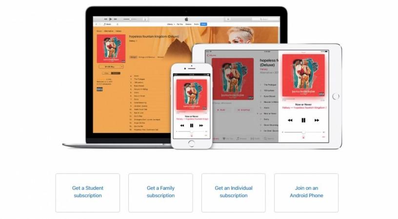 Apple Music, Students Subscription,