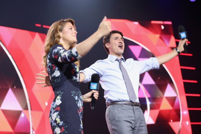 Justin Trudeau and wife Sophie