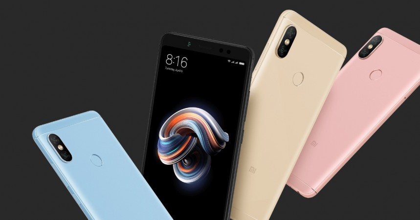Xiaomi Redmi Note 5 Pro as seen on its official website