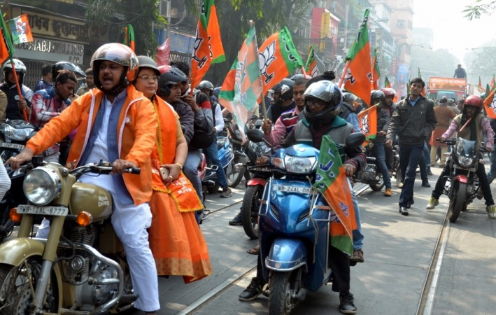 bjp kolkata rally