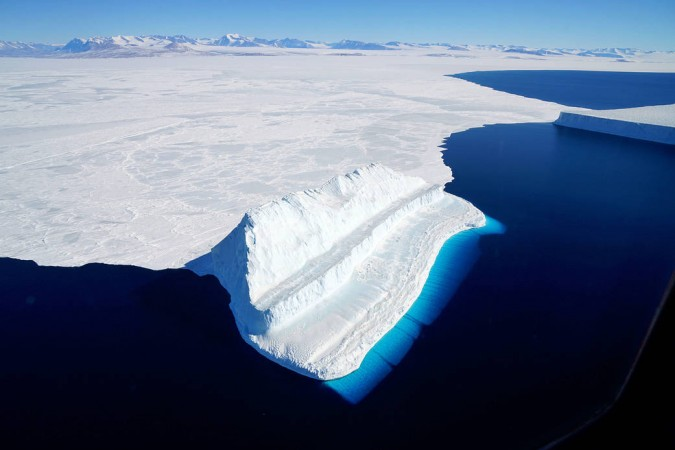 nasa, Antarctic,iceberg, Operation IceBridge,