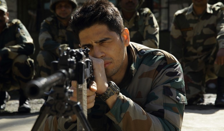 Sidharth Malhotra in Aiyaary movie