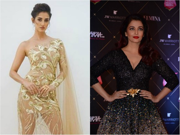 Disha Patani, Aishwarya Rai Bachchan at Nykaa Femina Beauty Awards 2018